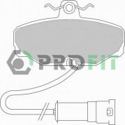 Тормозные колодки PROFIT 5000-0408