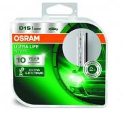 Комплект ксеноновых ламп Osram D1S Xenarc Ultra Life 66140ULT Duobox