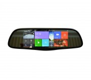Штатное зеркало заднего вида Prime-X 107 с монитором, видеорегистратором, Wi-Fi, Bluetooth на базе OS Android 4.4.2