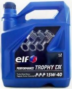 Моторное масло Elf Performance Trophy DX 15W40