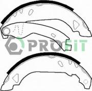 Барабанные тормозные колодки PROFIT 5001-0263