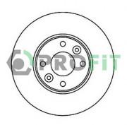 Гальмівний диск PROFIT 5010-1201