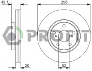 Гальмівний диск PROFIT 5010-1756