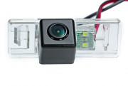 Камера заднего вида Fighter CS-HCCD+FM-72 для Citroen C-Elysee / Peugeot 408, 508, 301, 3008