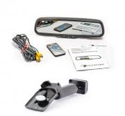 Штатное зеркало заднего вида с монитором и видеорегистратором Phantom RMS-430 DVR Full HD-02 для Honda, Mazda, Subaru, Suzuki