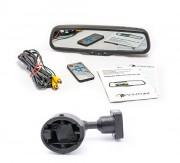 Штатное зеркало заднего вида с монитором и видеорегистратором Phantom RMS-430 DVR Full HD-3 для Audi, Seat, Skoda, Subaru, VW