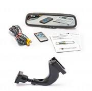 Штатное зеркало заднего вида с монитором и видеорегистратором Phantom RMS-430 DVR Full HD-06 для Daewoo, Chevrolet