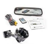 Штатное зеркало заднего вида с монитором и видеорегистратором Phantom RMS-430 DVR Full HD-30 для Porsche