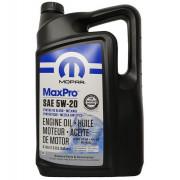 Оригинальное моторное масло Chrysler Mopar MaxPro 5W-20 (68518203AA, 68518202AA)