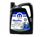 Оригинальное моторное масло Chrysler Mopar MaxPro 5W-20 (68218891AC, 68218890AB)