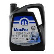 Оригинальное моторное масло Chrysler Mopar MaxPro 5W-30 (68218920AB, 68218921AC)