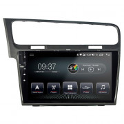 Штатная магнитола AudioSources T200-1050S DSP для Volkswagen Golf 7 (2013+) Android 10