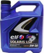 Моторное масло ELF SOLARIS LSX 5W30