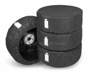 Комплект защитных чехлов для автомобильных шин и колес Kegel 4 x Season (размер XL 17-20`)