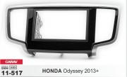 Переходная рамка Carav 11-517 для Honda Odyssey 2013+, 2DIN