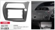 Переходная рамка Carav 11-223 для Honda Civic Hatchback 2006-2011, 2DIN