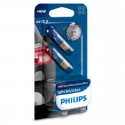 Комплект ламп накаливания Philips WhiteVision 12036WHVB2 (H6W)