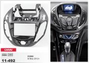 Переходная рамка Carav 11-492 для Ford B-Max 2012+, 2 DIN