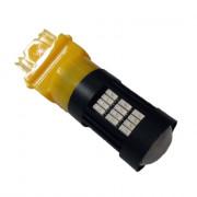 Светодиодная (LED) лампа Galaxy T25 (W27W 3156 P27W) 4014 58SMD Yellow