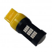 Светодиодная (LED) лампа Galaxy T20 (W21W 7440 W3x16d) 4014 58SMD Yellow