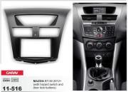 Переходная рамка Carav 11-516 для Mazda BT-50 2012+, 2 DIN