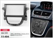 Переходная рамка Carav 11-494 для Opel Mokka / Buick Encore 2012-2016, 2 DIN