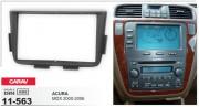Переходная рамка Carav 11-563 для Acura MDX 2000-2006, 2 DIN