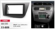 Переходная рамка Carav 11-609 для Seat Leon 2005-2012, 2 DIN