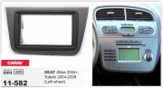 Переходная рамка Carav 11-582 для Seat Toledo 2004-2009, Altea 2004-2015, 2 DIN