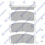 Гальмівні колодки HI-Q SP1046-R