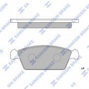 Тормозные колодки HI-Q SP1050