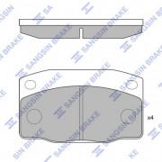 Тормозные колодки HI-Q SP1055