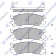 Гальмівні колодки HI-Q SP1060-R