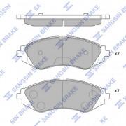 Тормозные колодки HI-Q SP1077