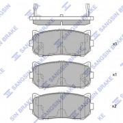 Гальмівні колодки HI-Q SP1079-R