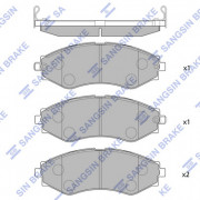 Тормозные колодки HI-Q SP1103