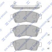 Тормозные колодки HI-Q SP1110