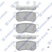 Тормозные колодки HI-Q SP1117