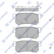 Тормозные колодки HI-Q SP1151