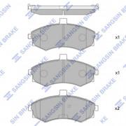 Тормозные колодки HI-Q SP1152