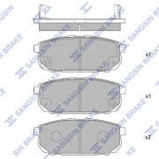 Тормозные колодки HI-Q SP1154