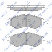 Тормозные колодки HI-Q SP1158