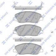 Тормозные колодки HI-Q SP1246