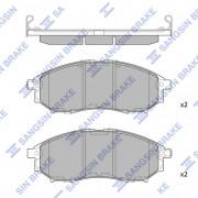 Тормозные колодки HI-Q SP1249