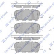 Тормозные колодки HI-Q SP1250