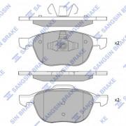 Тормозные колодки HI-Q SP1260