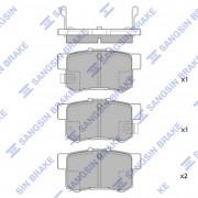 Тормозные колодки HI-Q SP1368