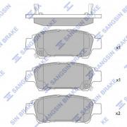 Тормозные колодки HI-Q SP1423