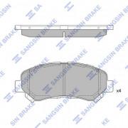 Тормозные колодки HI-Q SP1451