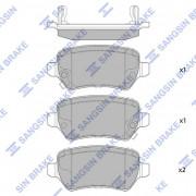 Тормозные колодки HI-Q SP1536